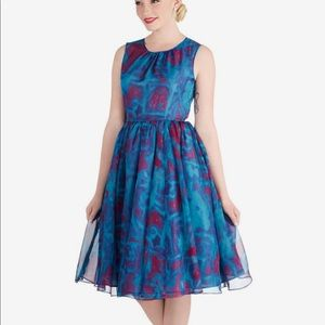 Geode party dress